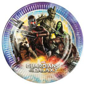 The Guardians of The Galaxy Luncheon Plates (8 Pack)