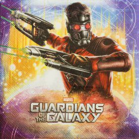 The Guardians of The Galaxy Paper Napkins (20 Pack)