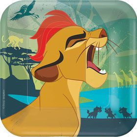 "The Lion Guard 7"" Cake Plate (8 Count)"