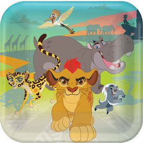 "The Lion Guard 9"" Luncheon Plate (8 count)"