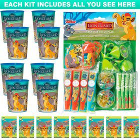 The Lion Guard Favor Kit (For 8 Guests)