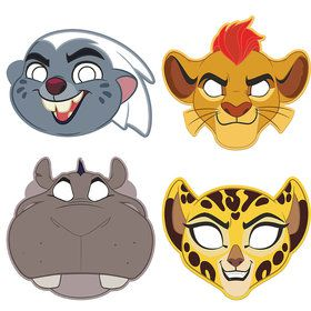 The Lion Guard Paper Masks (8 Count)