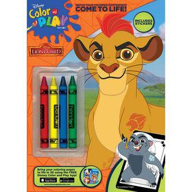 The Lion Guard Activity Book with Crayons (Each)