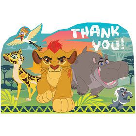The Lion Guard Postcard Thank Yous (8 Count)