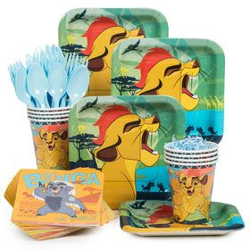 The Lion Guard Standard Tableware Kit (Serves 8)