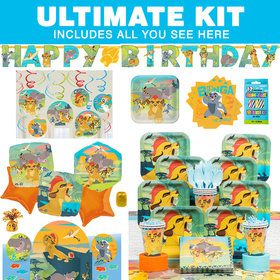 The Lion Guard Ultimate Tableware Kit (Serves 8)