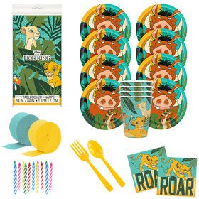 The Lion King Deluxe Tableware Kit (Serves 8)
