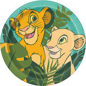 The Lion King Lunch Plates