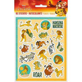 The Lion King Sticker Sheets