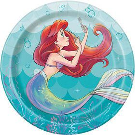 The Little Mermaid Dessert Plates