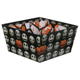 The Nightmare Before Christmas Jack Skellington Paperboard Candy Bowl