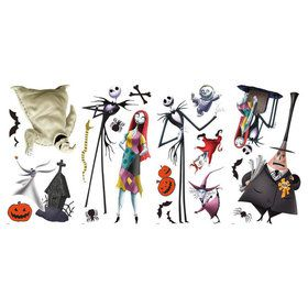 The Nightmare Before Christmas Peel & Stick Decals