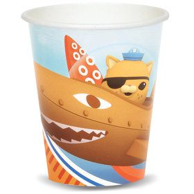 The Octonauts 9 oz. Paper Cups