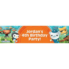 The Octonauts Personalized Banner (Each)