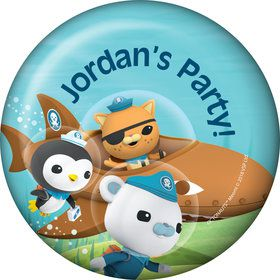 The Octonauts Personalized Button (Each)