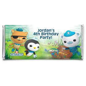 The Octonauts Personalized Candy Bar Wrapper (Each)