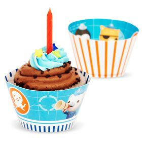 The Octonauts Reversible Cupcake Wrappers