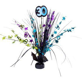 "The Party Continues 30th Birthday 18"" Spray Centerpiece"
