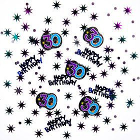 The Party Continues 30th Birthday Confetti