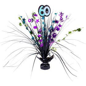 "The Party Continues 60th Birthday 18"" Spray Centerpiece"