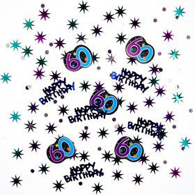 The Party Continues 60th Birthday Confetti