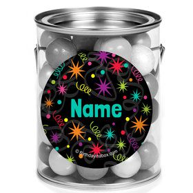 The Party Continues Personalized Mini Paint Cans (12 Count)
