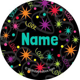 The Party Continues Personalized Mini Stickers (Sheet of 24)
