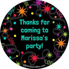 The Party Continues Stickers (Sheet Of 12)