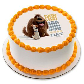 "The Secret Life of Pets 7.5"" Round Edible Cake Topper (Each)"