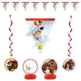 The Secret Life of Pets Decoration Kit (7 Pieces)