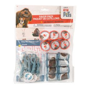 The Secret Life of Pets Party Favor Pack (48 Pieces)