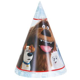 The Secret Life of Pets Party Hats (8 Count)