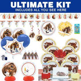 The Secret Life of Pets Ultimate Birthday Party Tableware Kit (Serves 8)