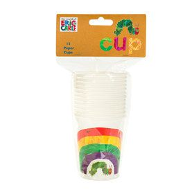 The Very Hungry Caterpillar 9oz Paper Cups (12)