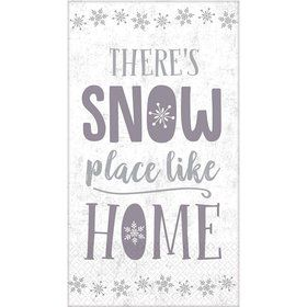 There's Snow Place Like Home Guest Towels (16)