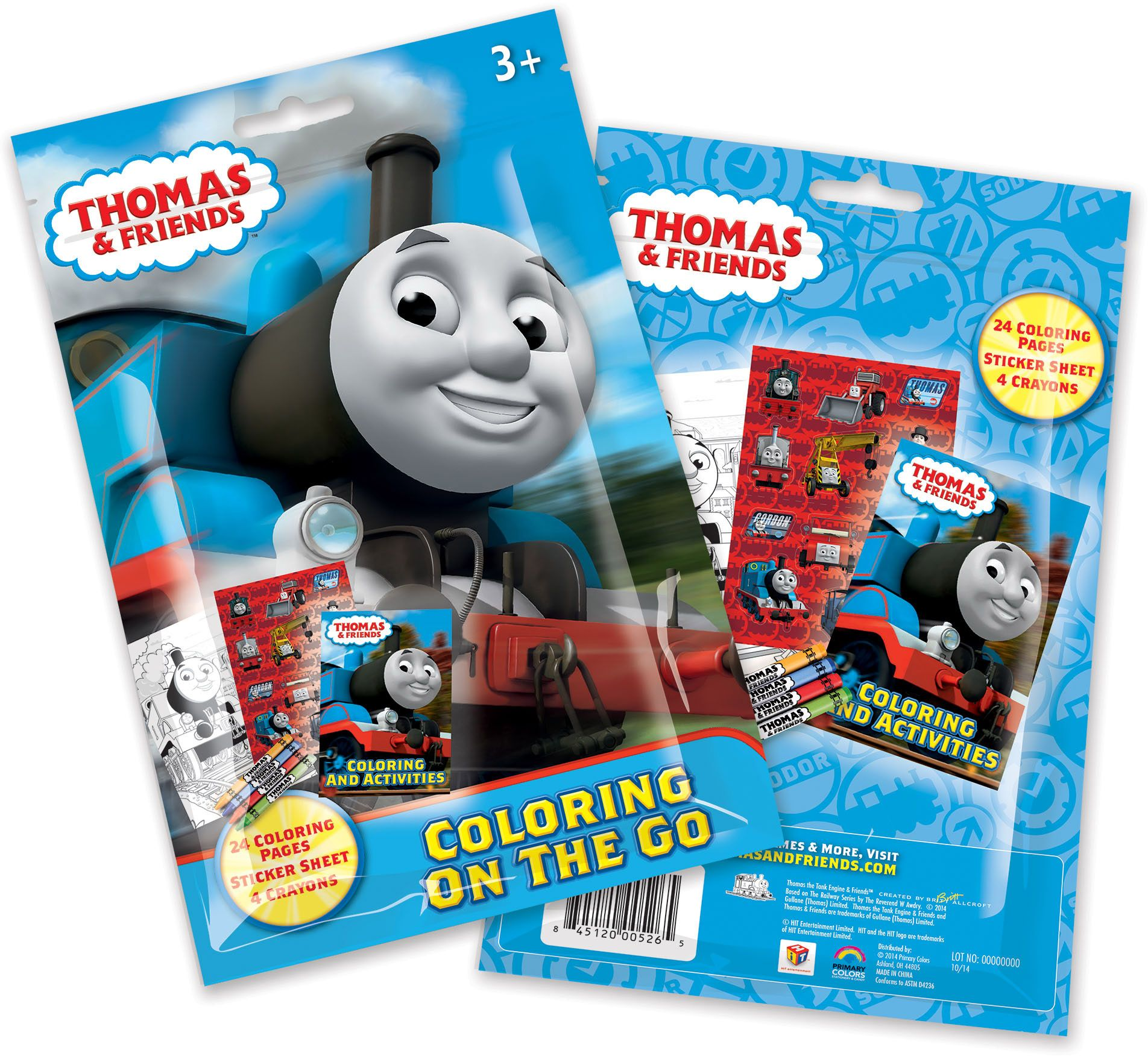 Thomas and Friends Coloring Pouch Set (Each) - Party Supplies BB526TT