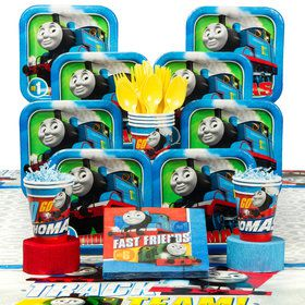 Thomas Birthday Party Deluxe Tableware Kit (Serves 8)