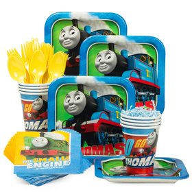 Thomas Birthday Party Standard Tableware Kit (Serves 8)