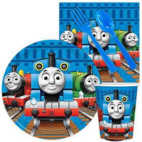 Thomas Birthday Party Standard Tableware Kit Serves 8