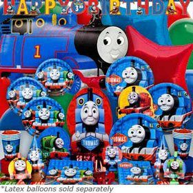 Thomas Birthday Ultimate Tableware Kit Serves 8