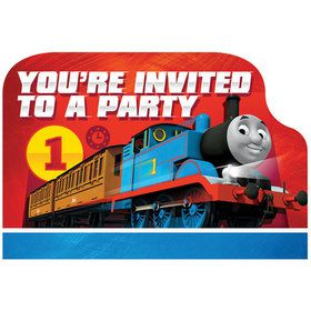Thomas Invitations (8-pack)