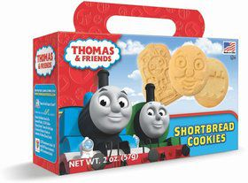 Thomas Shaped Shortbread Cookies 2oz. Box (Each)