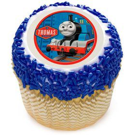 "Thomas the Tank 2"" Edible Cupcake Topper (12 Images)"