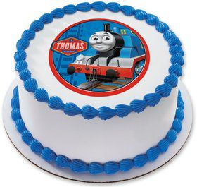 "Thomas the Tank 7.5"" Round Edible Cake Topper (Each)"
