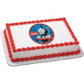 Thomas the Tank Quarter Sheet Edible Cake Topper (Each)
