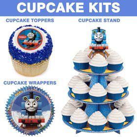 Thomas The Train Cupcake Kit