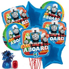 Thomas the Train Deluxe Balloon Bouquet Kit