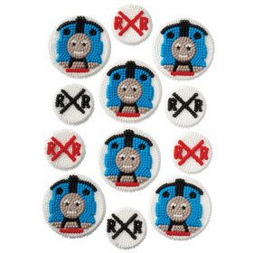 Thomas the Train Edible Icing Decorations (12 Pack)