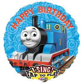 Thomas the Train Jumbo Singing Foil Balloon