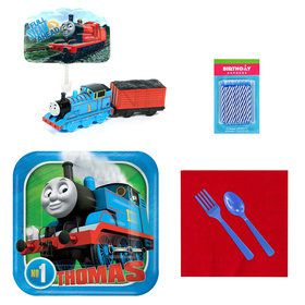 Thomas the Train Tableware and Cake Topper Kit